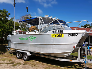 6.5m Custom Cat in 3C Survey 2014 Commercial Boat Fingal Head Tweed Heads Area Preview