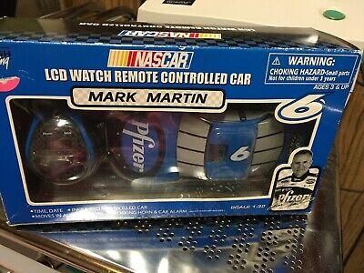 Mark Martin Lcd Watch Remote Controlled Car Open Box Race Car # 6 Mark Martin Race Car
