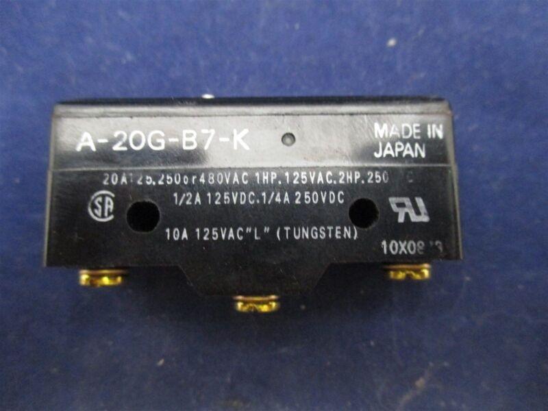 Omron A-20G-B7-K Limit Switch