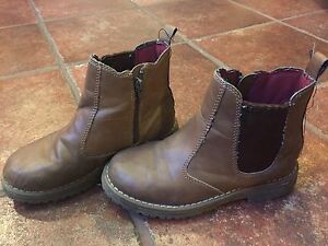 Zip up boots (size 2)