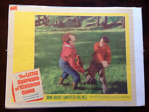 WILLS-CHILL-THE-LITTLE-SHEPHERD-OF-KINGDOM-COME-ORIGINAL-LOBBY-CARD-MOVIE-POSTER