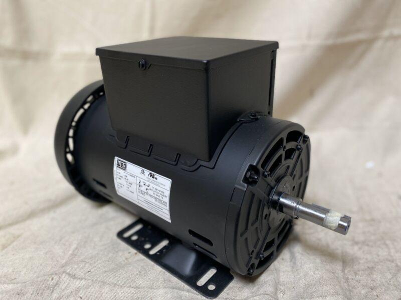 WEG 12882730 5 HP Light Duty Air Compressor Motor Capacitor-Start 3400RPM 230V