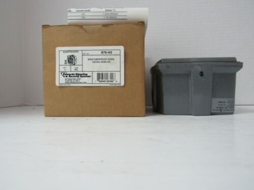 EDWARDS SIGNALING & SECURITY SYSTEMS 876-N5 WEATHERPROOF HORN