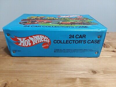 Hot Wheels Vintage Collectors case, holds 24 cars
