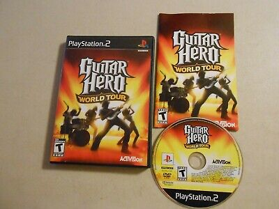Used, Guitar Hero: World Tour (Sony PlayStation 2, 2008) for sale  Shipping to Nigeria
