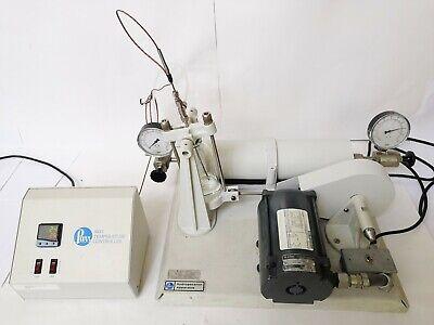 A Whole Set Parr 3911 Shaker Parr 4833 Temperature Controller 250 Ml Vessel
