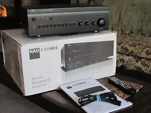 NAD C375BEE Integrated Amplifier