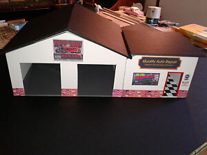 1/24 & 1/25 Scale Diorama  2 Bay HOT ROD  Garage with Office G-Scale