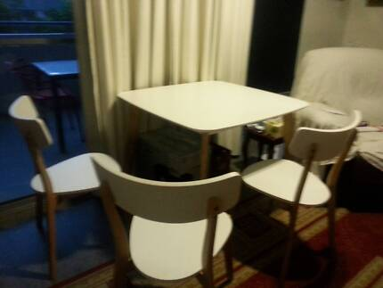 As New Dining Table 4 Chairs