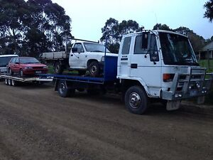 1993 ISUZU FSR TWO CAR CARRIER Pearcedale Casey Area Preview