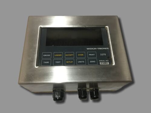 Weigh-Tronix Scale Head Model 3275 Check Weigher Scale Head