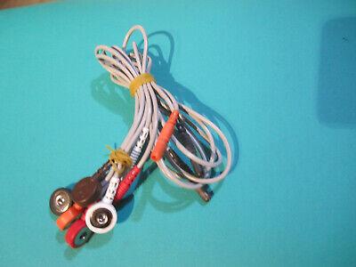 Delmar Reynolds Aria Impresario 27382 Holter Ecg Electrode Snap Lead 25452-525