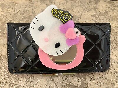 New Hello Kitty Black Leather Mirrored (Hello Kitty Black Leather)