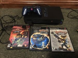 Ps2 ratchet and clank collection system and games