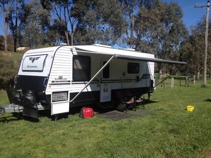JB Caravan 21 foot only 4 years old