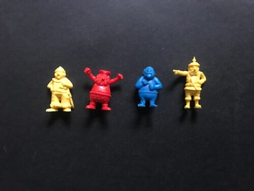 CEREAL TOY KELLOGGS 1973 PIRATES SERIES UK ISSUE LOT OF 4