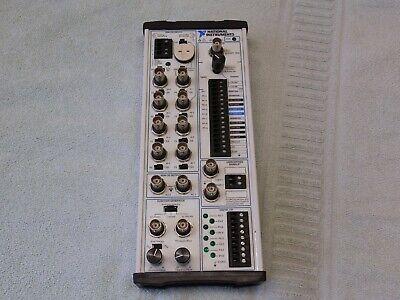 National Instruments Bnc-2120 Connector Block W Function Generator Quad Encoder