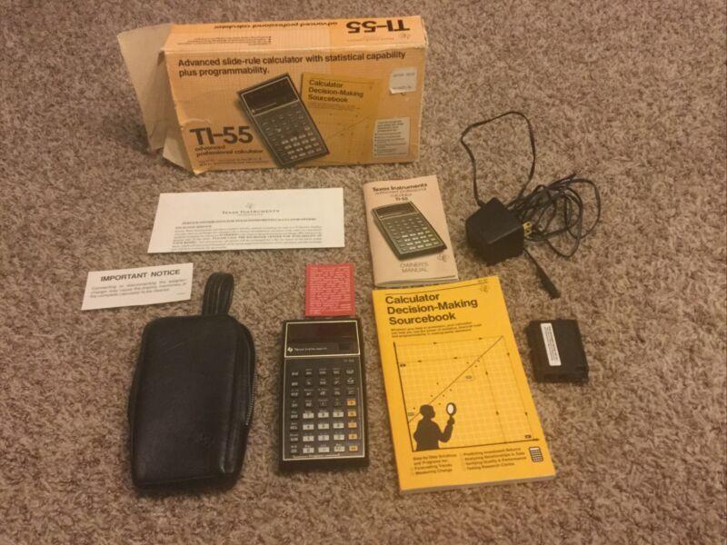 TI 55 Calculator