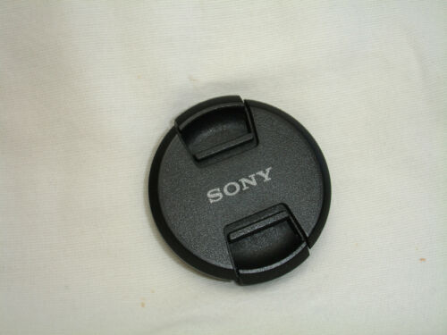 Sony 49mm Front Camera Lens Cap, Genuine, VGUC