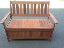 Brand New - Timber Outdoor Storage Bench Seat Brendale Pine Rivers Area Preview