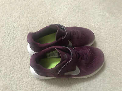 Nike Youth FREE RN Running Shoes Purple Child Size 3Y