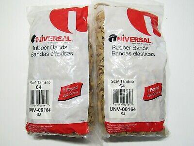 2 Lb Universal Rubber Bands Size 64 Unv-00164