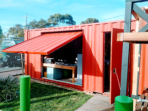 Modified 20 foot shipping container, site shed, portable, Cafe, Mordialloc Kingston Area Preview