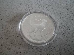 Pure Silver coins 1oz ABC Coins Lunar Dog 2018