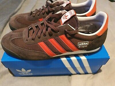 adidas dragon trainers Brown size 10 excellent condition worn twice