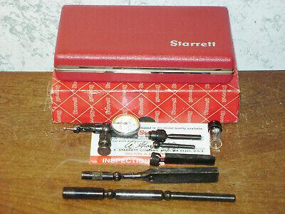Starrett Last Word Dial Indicator No 711 W Case-box All Attachments