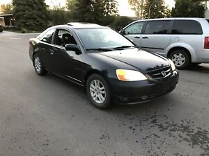 2001 Honda Civic Si Coupe MANUAL