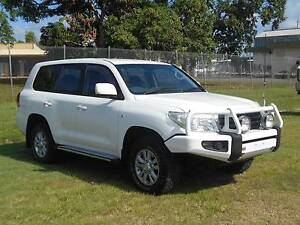 2008 Toyota LandCruiser 200 SER TURBO DIESEL Bungalow Cairns City Preview