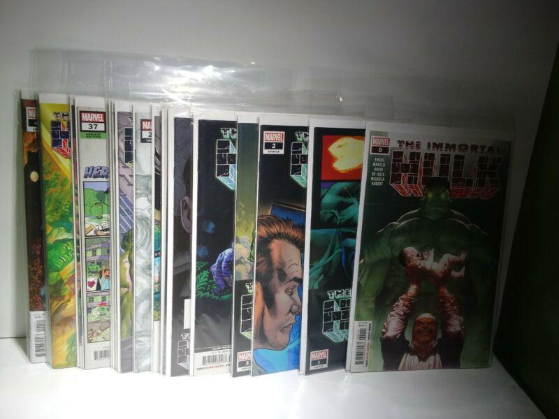 The Immortal Hulk LOT 21 Comics Between #0- 42 Variant,  Different Printings