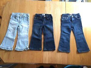 Jeans pour fillette 3 ans