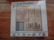 """All Night Media - """"Pooh Playtime"""" rubber stamps Dingley Village Kingston Area Preview"""