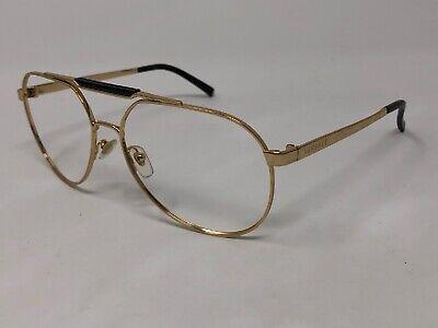 VERSACE MOD.2155 1002/81 Sunglasses Frame Italy Aviator 59-15-140 Gold VW84
