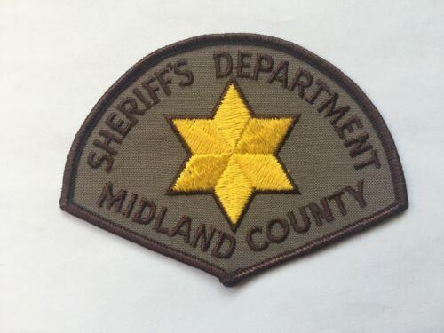 Midland County MICHIGAN Sheriff Patch