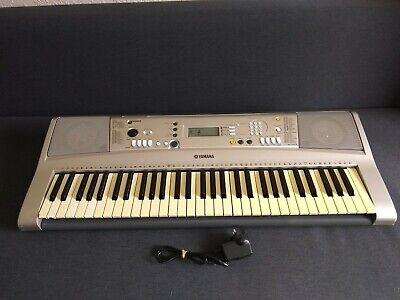 Yamaha PSR-E313 touch sensitive keyboard with adaptor, LOADS of voices & styles!
