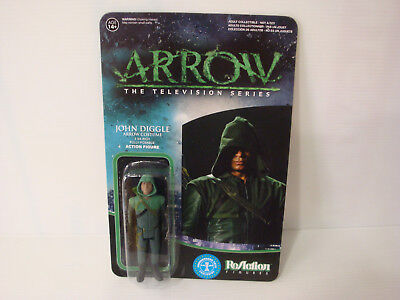 Reaction Action Figuren - Figürchen John Diggle Arrow Kostüm Serie; Neu & - Arrow Diggle Kostüm