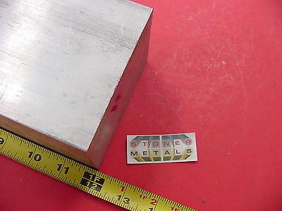 2-12x 4x 12 Aluminum 6061 Solid Flat Bar 2.50x 4.00 T6511 Plate Mill Stock