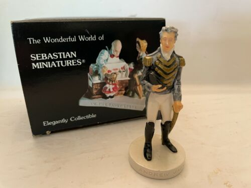 Sebastian Miniature Andrew Jackson - Hudson Signed