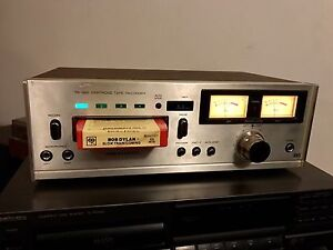 Serviced: 1977 REALISTIC TR-883 8 track player / recorder