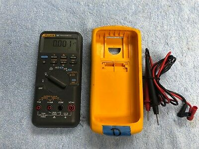 Lotd Fluke 787 Processmeter W Genuine Leads