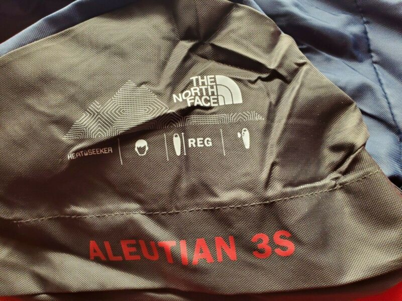 The North Face Aleutian 3s Black  Mummy Sleeping Bag 20F -7C goose down filled