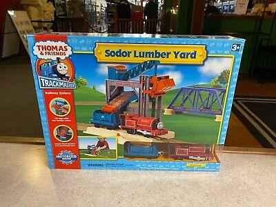 Thomas & Friends 2006 Trackmaster Railway Train System Set New SODOR LUMBER YARD