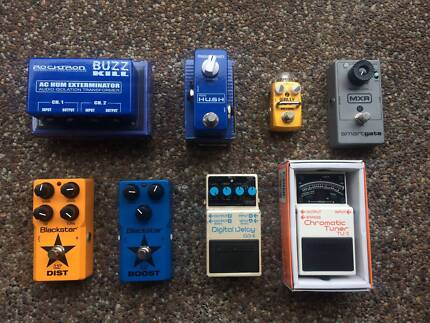 Mixed Guitar Pedals - Stomp boxes