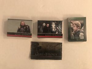 Game of Thrones - Season one -  Set complet Cartes / Card