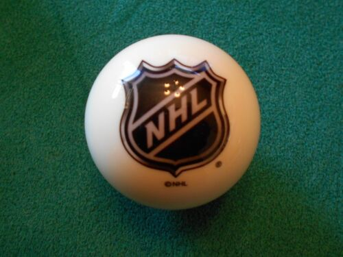 NEW! NHL Logo Pool / Collector Billiard Cue Ball - New Style