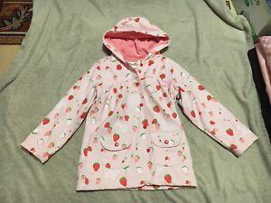 """Girl """"Hatley"""" rain jacket (size 7)"""