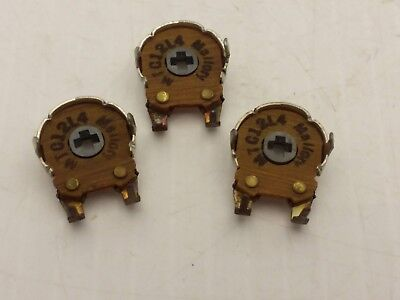 Mallory Mct12l4 Variable Resistor 100 Ohms Lot Of 3 Nnb